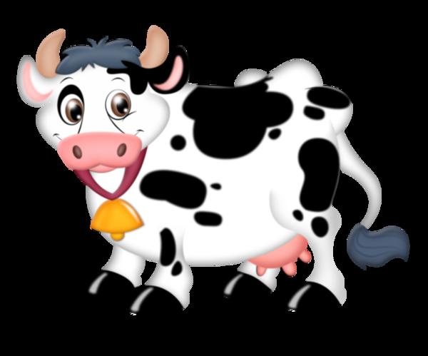 Dessin Couleur Vache